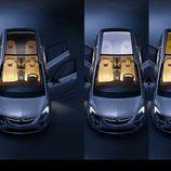 Ambientes interiores del Opel Zafira 2011