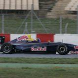 El monoplaza de Carlos Sainz jr en Montmeló
