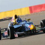 Carlos Sainz jr en el circuito de Motorland