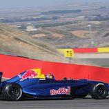 Carlos Sainz jr en el circuito de Alcañiz
