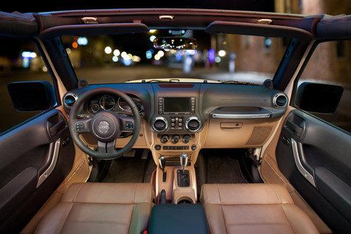 Acabado en piel en el Jeep Wrangler
