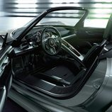 Interiores del Porsche 918 Spyder