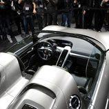 Vista del habitáculo del Porsche 918 Spyder