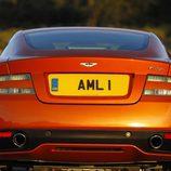 Parte trasera del Aston Martin Virage 2011