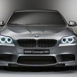 Frontal del nuevo BMW M5 2011