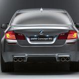 Parte trasera del BMW M5 concept