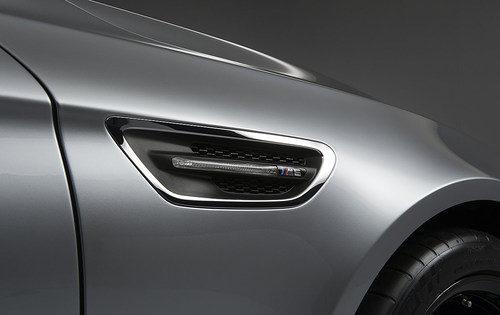 Branquia lateral del BMW M5 Concept