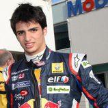 Carlos Sainz jr en el circuito de Hockenheim