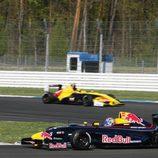 Monoplaza de Carlos Sainz Jr en el circuito de Hockenheim