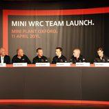 Rueda de prensa de la presentación del MINI WRC Team