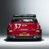 Parte trasera del MINI WRC 2011