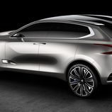Parte trasera del Peugeot SxC