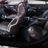 Asientos de nuevo diseño en el Peugeot SxC concept