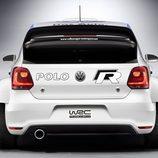 Parte trasera del Volkswagen Polo R WRC
