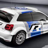 Alerón del Volkswagen Polo del Mundial de Rallies