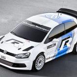 Vista superior del Volkswagen Polo R WRC