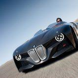 El BMW 328 Hommage en carretera