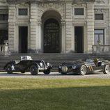 Frente a frente los dos modelos del BMW 328