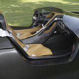 Habitáculo del BMW 328 Hommage