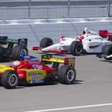 Dan Wheldon en la carrera de Las Vegas de la IndyCar