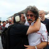 Paolo Simoncelli llora la muerte de su hijo Marco Simoncelli