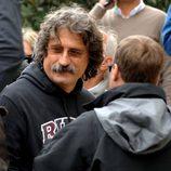 Paolo Simoncelli en el funeral de Marco Simoncelli