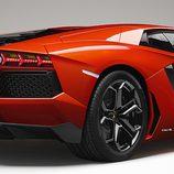 Lamborghini Aventador parte trasera