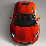 Lamborghini Aventador vista superior