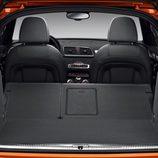 Asientos traseros abatibles en el Audi Q3