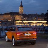 Audi Q3 en la noche