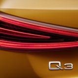 Faro trasero del Audi Q3