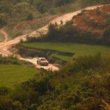 El Audi Q3 recorrió carreteras sin pavimentar
