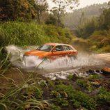 El Audi Q3 cruzó rios para llegar a su destino