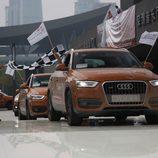 Entrada triunfal de los Audi Q3