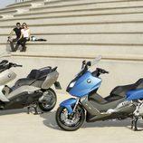 BMW C 650 GT y BMW C 600 Sport