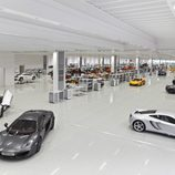 Interior del McLaren Production Centre