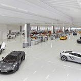 Interior del McLaren Production Centre
