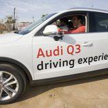 Una Audi Q3 'Driving Experience' en las instalaciones del F.C. Barcelona