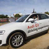 Víctor Sada al volante del Audi Q3