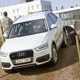 Navarro al volante del Audi Q3