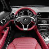 Posición del conductor en el Mercedes-Benz SL