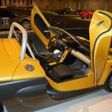 Interior del Renault Spider