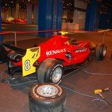 Cambio de neumáticos para el monoplaza Fórmula en Superdeportivos