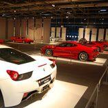 Ferraris rojos y alguno blanco en Superdeportivos