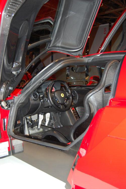 Interior del Ferrari Enzo