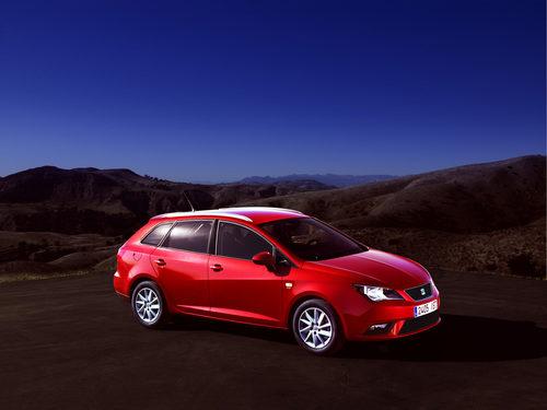SEAT Ibiza 2012 en rojo