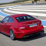 Mercedes C 63 AMG Coupé Black Series en circuito
