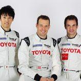 Kazuki Nakajima, Alex Wurz y Nicolas Lapierre