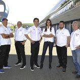 El equipo de Telecinco para el Mundial de Motociclismo 2012