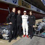 El Junior Team de Mercedes para el DTM junto a Michael Schumacher